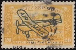 PHILIPPINES - Scott #C49 Rice Planting 'Overprinted' (*) / Used  Stamp - Philippines
