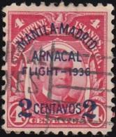 PHILIPPINES - Scott #C54 McKinley 'Surcharged' / Used Stamp - Philippines