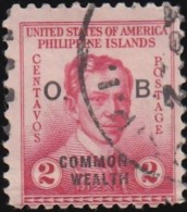 PHILIPPINES - Scott #O27 Official 'Overprinted' / Used Stamp - Philippines