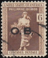 PHILIPPINES - Scott #O29 Official 'Overprinted' / Used Stamp - Philippines
