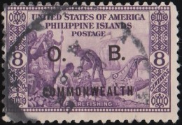PHILIPPINES - Scott #O30 Official 'Overprinted' / Used Stamp - Philippines