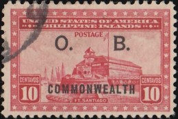 PHILIPPINES - Scott #O31 Official 'Overprinted' / Used Stamp - Philippines