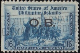 PHILIPPINES - Scott #O33 Official 'Overprinted' / Used Stamp - Philippines