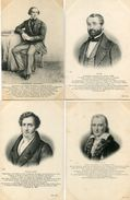 HOMMES CELEBRES(8 CARTES) MUSICIEN - Histoire