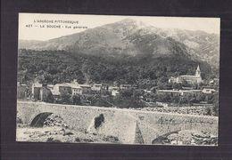 CPA 07 - LA SOUCHE - Vue Générale - TB PLAN D'ensemble Du Village - Pont En Pierre 1er Plan - France