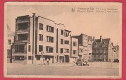 Nieuwpoort - Villa's Op De Leopoldplaaats ... Oldtimer ( Verso Zien ) - Nieuwpoort