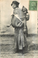 TUNISIE BEDOUINE ET SON ENFANT - Tunisie