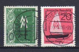 DDR    536 - 537    Gestempelt - Gebraucht