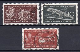 DDR    561 - 563    Gestempelt - DDR