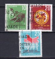 DDR    657 - 659   Gestempelt - Gebraucht