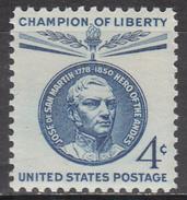 UNITED STATES    SCOTT NO.1125    MNH      YEAR  1959 - Unused Stamps