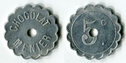 N93-0431 - Monnaie De Nécessité - Noisiel - Chocolat Menier - 5 Centimes - Type 1 - Notgeld