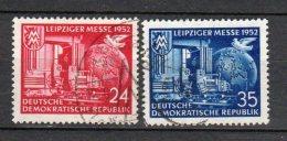 DDR    315 - 316    Gestempelt - Gebraucht