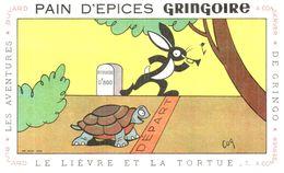 P Gr/ Pain D'épices Gringoire  Le Lièvre Et La Tortue N= 1 (Illustrateur Coq) (N= 1) - Gingerbread