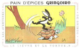 P Gr/ Pain D'épices Gringoire  Le Lièvre Et La Tortue N= 3 (Illustrateur Coq) (N= 2) - Gingerbread