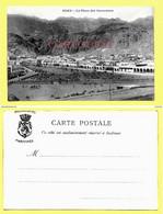 POST CARD YEMEN ADEN Place Caravanes ( Messageries Maritimes) - Yémen