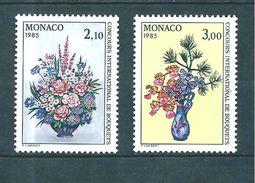 Monaco Timbres De 1984  Neufs** N°1448/49 - Ungebraucht