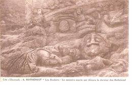 35 - Rothéneuf - Les Rochers Sculptés - Le Monstre Marin... - Rotheneuf