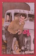Paris - Transport De La S.T.A.E. ... Ancien Camion à Identifier ... Carte Fantaisie  ( Voir Verso ) - Transport Urbain En Surface