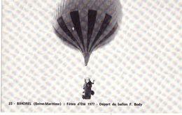 Bihorel Fetes D'été 1977 Départ Du Ballon F Body (tirage Limité à 1000 Ex) - Zeppeline