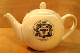 THEIERE MAISON FONDEE EN 1854 THE QUALITE SUPERIEURE MARIAGE FRERES MF LES MEILLEURS CRUS LA GRANDE TRADITION PARIS - Teapots
