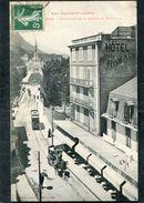 CPA - LOURDES - Boulevard De La Grotte, Animé - Tramway, Attelage - Lourdes