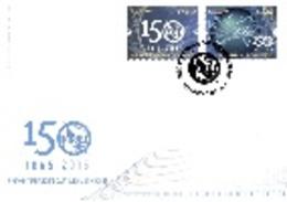 Portugal &  FDC U.I.T International Telecommunication Union 1865-2015 (7577) - FDC