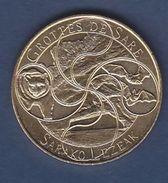 """Jeton 2016 Grottes De Sare 64 """"Sarako Lezeak"""" Médaille Touristique Monnaie De Paris - 2016"""