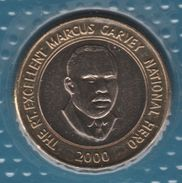 JAMAICA 20 DOLLARS 2000 KM# 182 Bi-métallique MARCUS GARVEY NATIONAL HERO - Jamaica