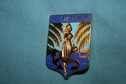 ANCIEN INSIGNE CRS  MARTINIQUE - Police & Gendarmerie