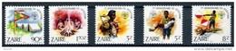 Zaire 1982 OCBnr. 1164-68 *** MNH Scoutisme Cote 12,50 Euro - Zaïre