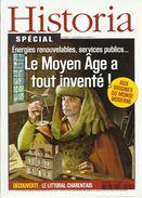 HISTORIA SPECIAL THEMATIQUE N° 7 Inventions Du Moyen-Age + Les Charentes - Histoire