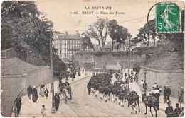 29. BREST. Place Des Portes. 1166 - Brest