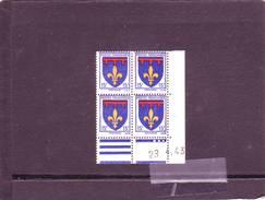 N° 574 - 15F Blason D'Ile De PROVENCE - A De A+B - Tirage Du 16.4 Au 27.4.43 - 23.04.1943 - - Angoli Datati