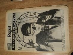 RADAR N° 360 DU 1 JANVIER 1956 LA MORT DU BOXEUR ORANAIS FRANCOIS BOLEDA A MAYENNE - Kranten