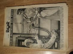 RADAR N° 357 DU 11 DECEMBRE 1955. 1° PLAT DE RINO FERRARI LE PRESIDENT FAURE / LE COMMISSAIRE CLOT / - Kranten