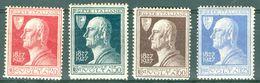 Italy 1927 Alessandro Volta MNH** - Lot. RE210-213 - 1900-44 Victor Emmanuel III