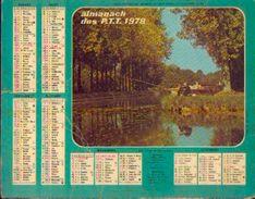 (FRANCE) – Almanach Des P.T.T. 1978 - Calendriers