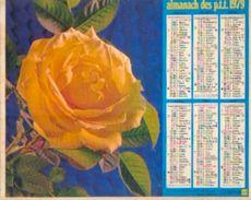 (FRANCE) – Almanach Des P.T.T. 1979 - Calendriers