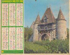 (FRANCE) – Almanach Des P.T.T. 1981 - Calendriers