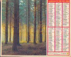 (FRANCE) – Almanach Des P.T.T. 1982 - Calendriers