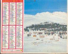 (FRANCE) – Almanach Des P.T.T. 1983 - Calendriers