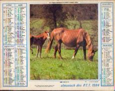 (FRANCE) – Almanach Des P.T.T. 1984 - Calendriers