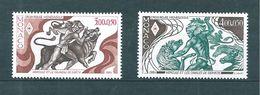 Monaco Timbres De 1984  Neufs** N°1435 Et 1436 Neufs ** - Ungebraucht