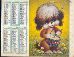(FRANCE) – Almanach Des P.T.T. 1988 - Calendriers