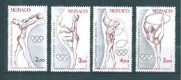 Monaco Timbres De 1984  Neufs** N°1412 A 1415  Neufs ** - Monaco