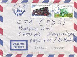 Tchad 2006 Moursal Poland Steam Loc Train Skull Toumain Prehistory Cover - Tsjaad (1960-...)