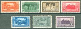 Italy 1929 Abbazia Montecassino MH* - Lot. RE262-268 - 1900-44 Victor Emmanuel III
