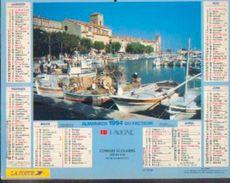 (FRANCE) – Almanach Des P.T.T. 1994 - Calendriers