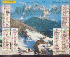 (FRANCE) – Almanach Des P.T.T. 1995 - Calendriers